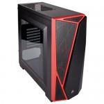 Компьютерный корпус Corsair Carbide Series SPEC-04 Black/red
